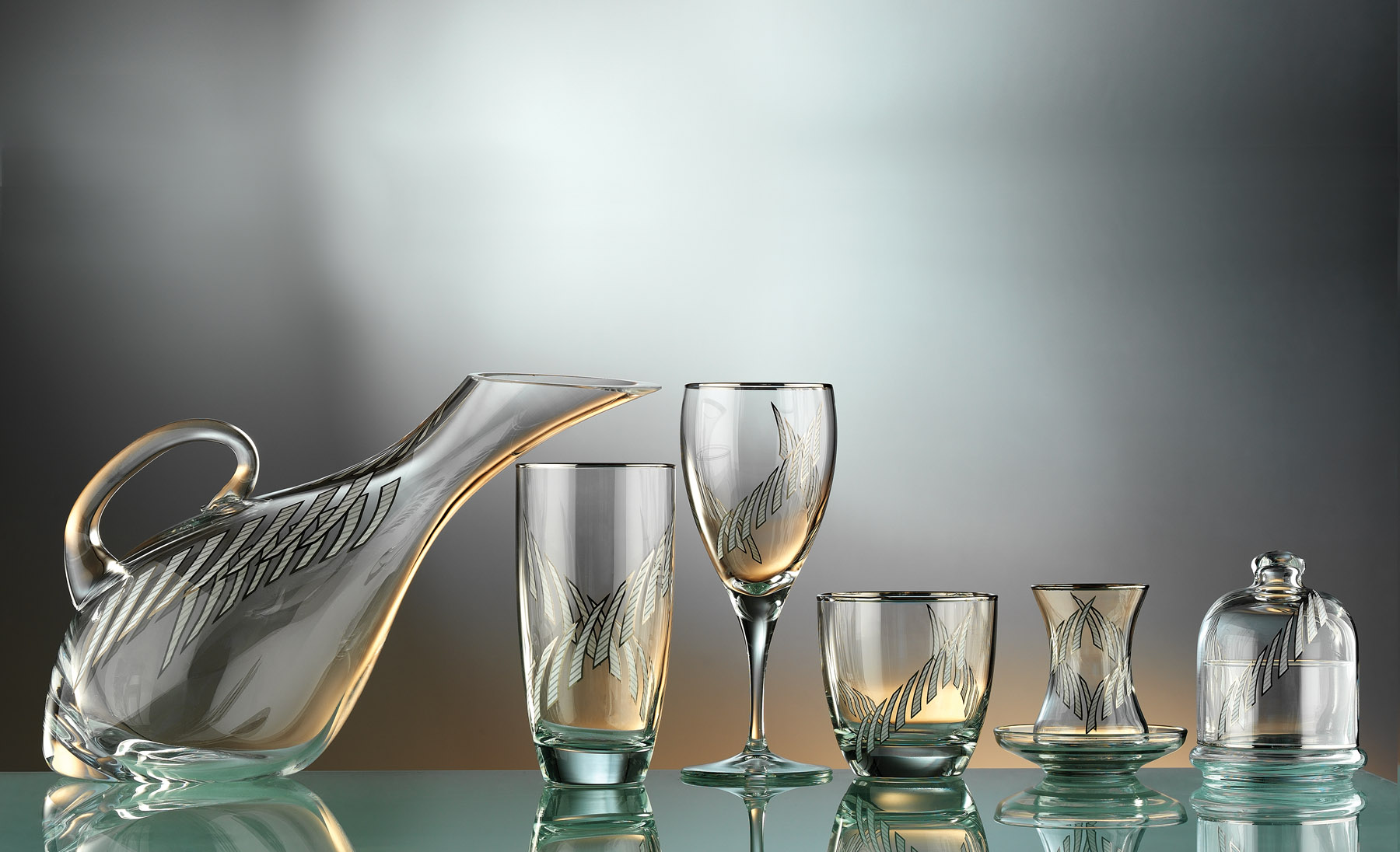 Pırlanta Glass Service Set