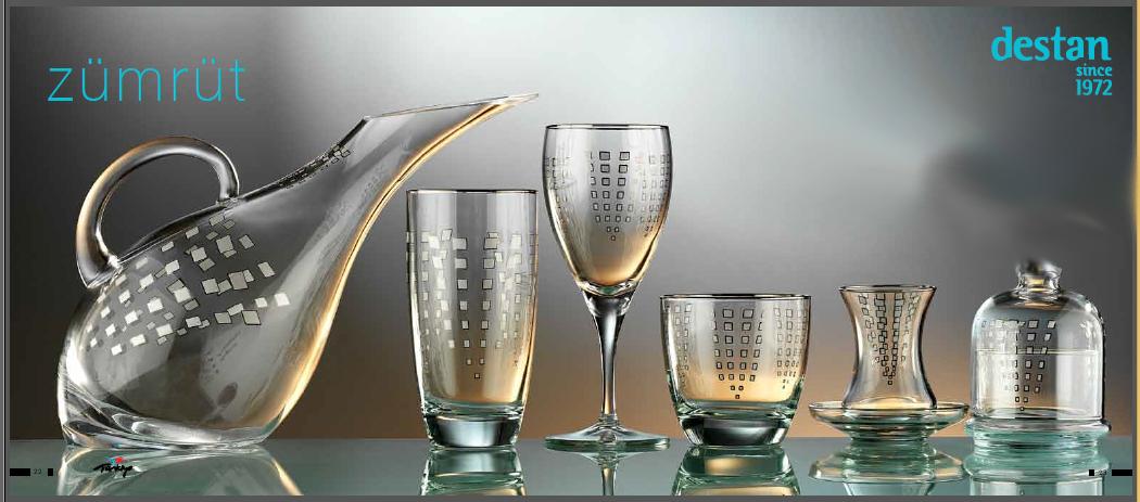 2014Destan_ZÜMRÜT_GlassSets
