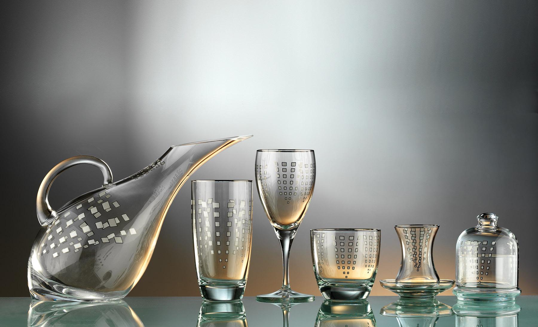 Zümrüt Glass Service Set